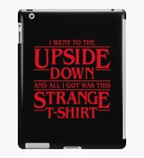 I Went to the Upside Down iPad Case/Skin