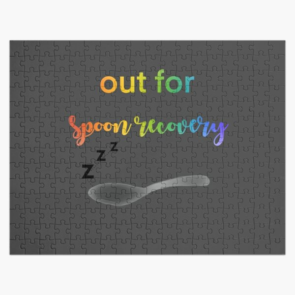 Spoon Recovery Jigsaw Puzzle