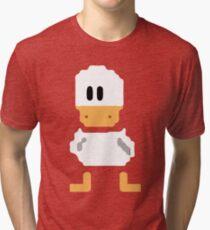 Cute simple Duck Tri-blend T-Shirt