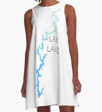 Lay Lake Alabama A-Line Dress