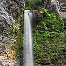Eagle Cliff Falls Plunge by Kenneth Keifer