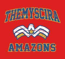 Wonder Woman - American Football Style   Women's T-Shirt