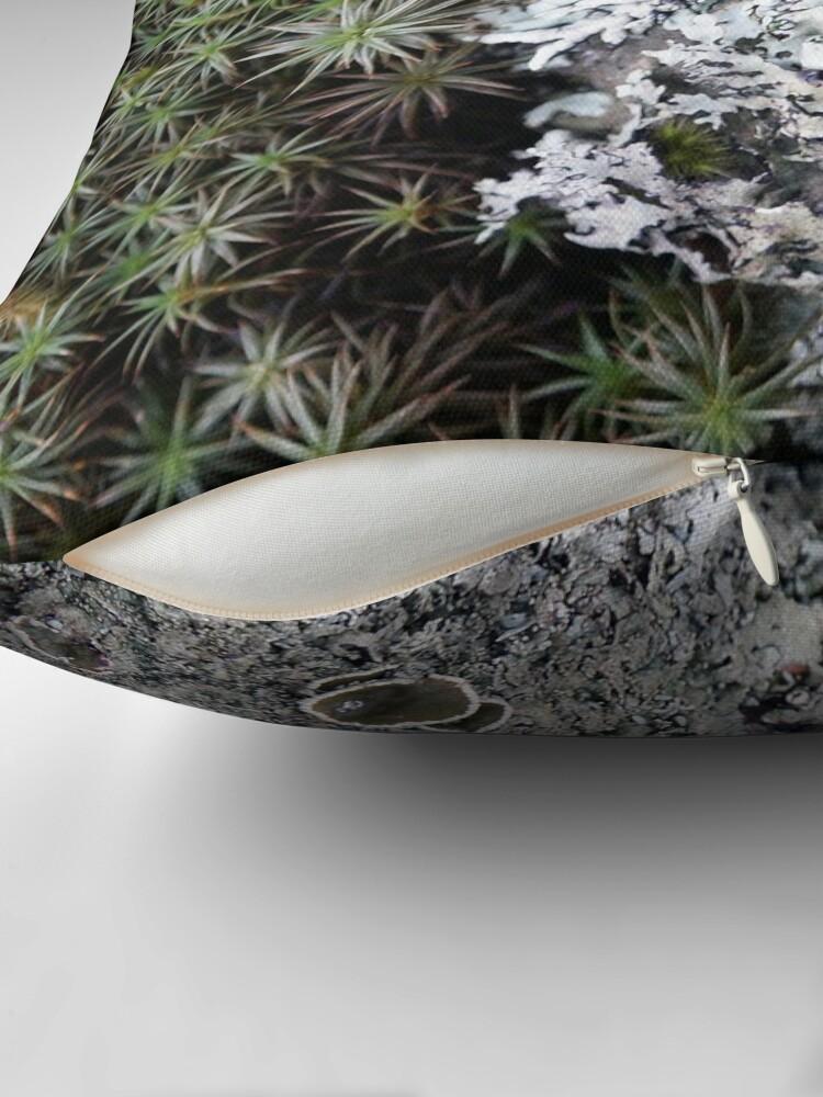 Alternate view of Lichen & Moss Throw Pillow