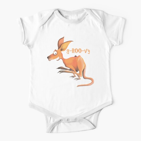 g-Roo-vy Short Sleeve Baby One-Piece