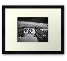 D Day - Omaha Beach Framed Print