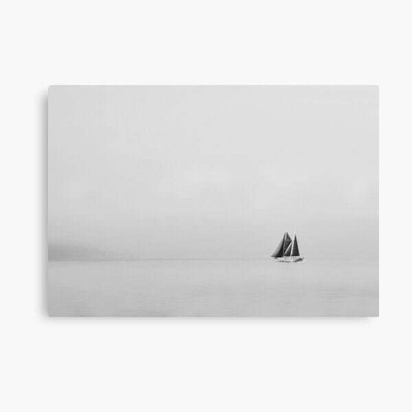 The Sailing Boat...........Lake Geneva Canvas Print