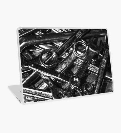 Tool Orgy - Monochrome (Studio pouches, laptop skin/sleeve) Laptop Skin