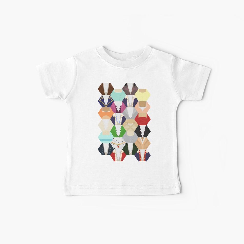 Costume Patchwork | Hamtilton Camiseta para bebés