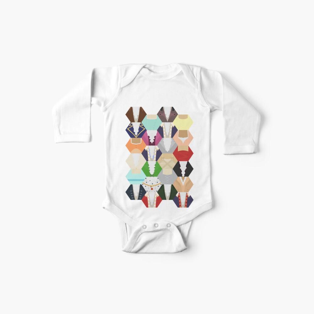 Costume Patchwork | Hamtilton Body para bebé