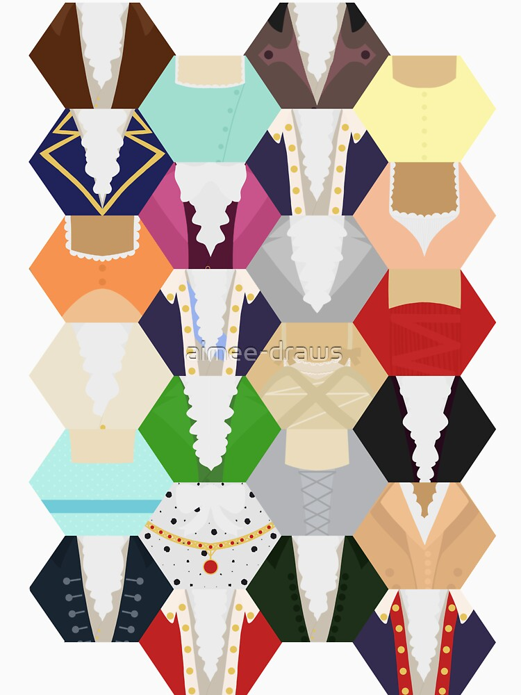 Costume Patchwork | Hamtilton de aimee-draws