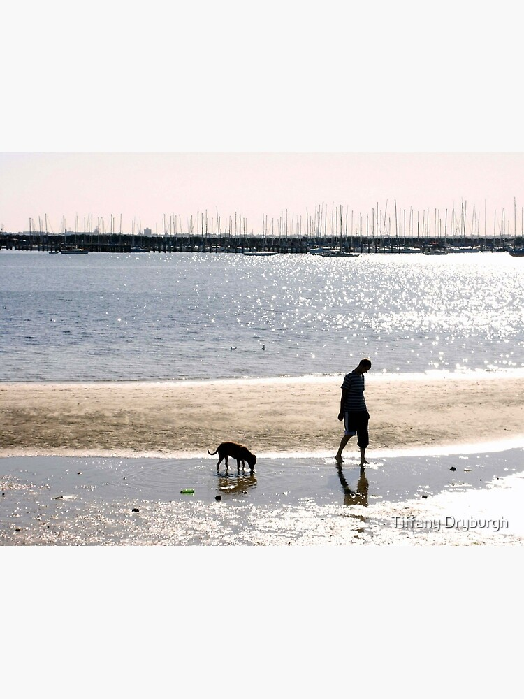 A Man and his Dog by Tiffany