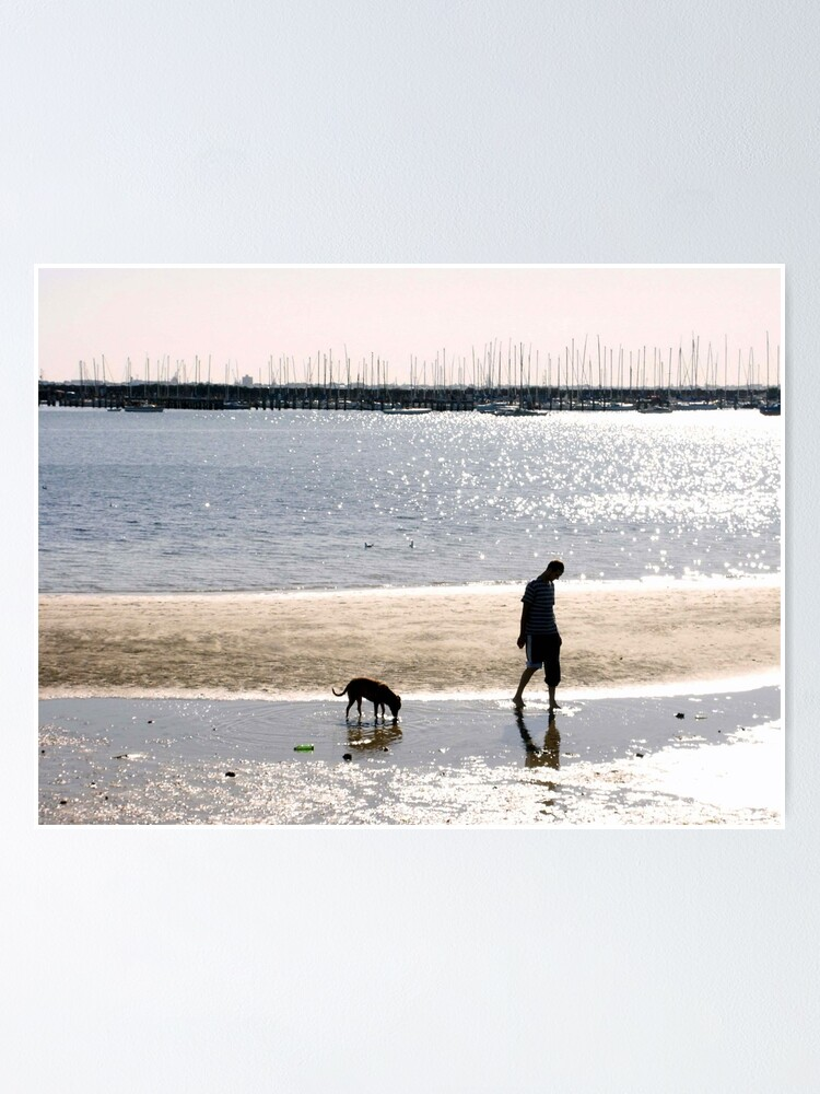Alternate view of A Man and his Dog Poster