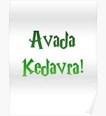 Avada Kedavra! Poster
