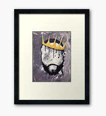 Naturally King Framed Print