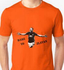 Zlatan Ibrahimovic - Dare to Zlatan - Manchester United Unisex T-Shirt