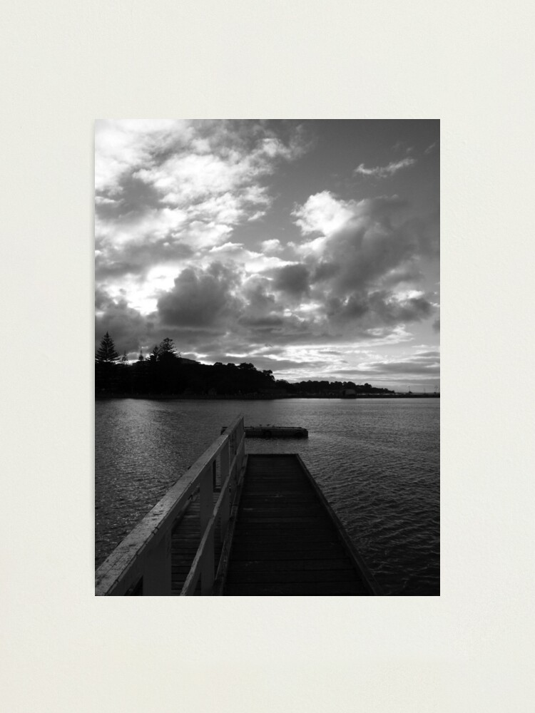 Alternate view of Sorrento Sunset Photographic Print