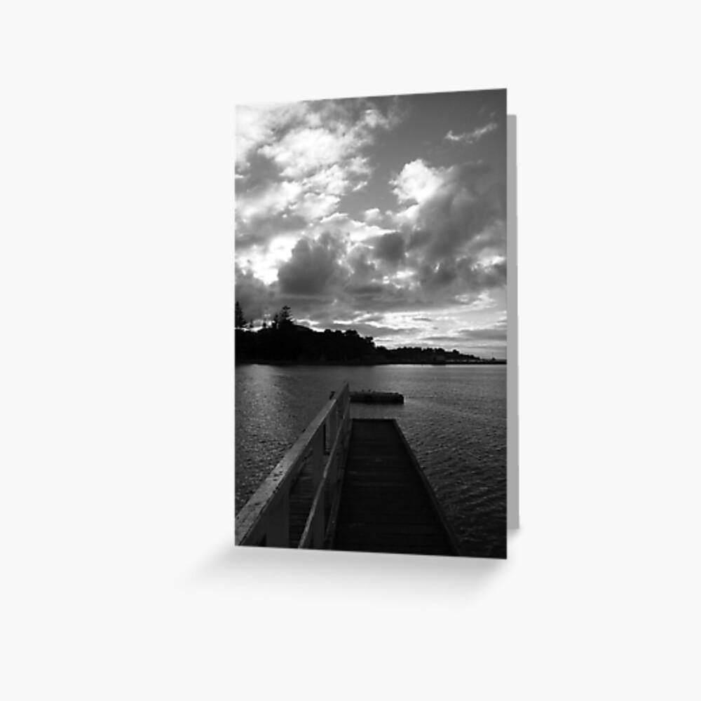 Sorrento Sunset Greeting Card