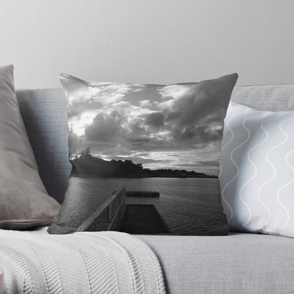 Sorrento Sunset Throw Pillow
