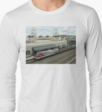 Amtrak Veterans Unit # 42 at Worcester Long Sleeve T-Shirt