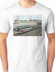 Amtrak Veterans Unit # 42 at Worcester Unisex T-Shirt