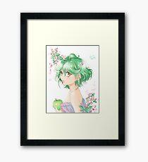 Yu-Gi-Oh! - Rin Framed Print