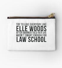 Lebe jeden Tag wie Elle Woods Täschchen