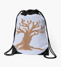 Barren Tree Drawstring Bag