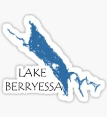 Lake Berryessa Napa Valley California Sticker