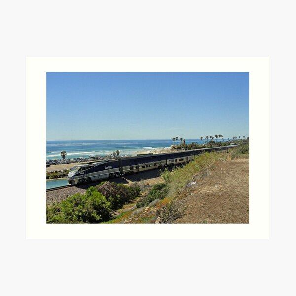 San Diego Bound Art Print