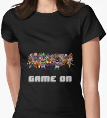 Game On! Video Game Crowd with Mario and Luigi T-Shirt