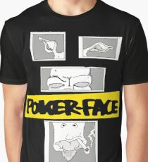Poker Face Graphic T-Shirt