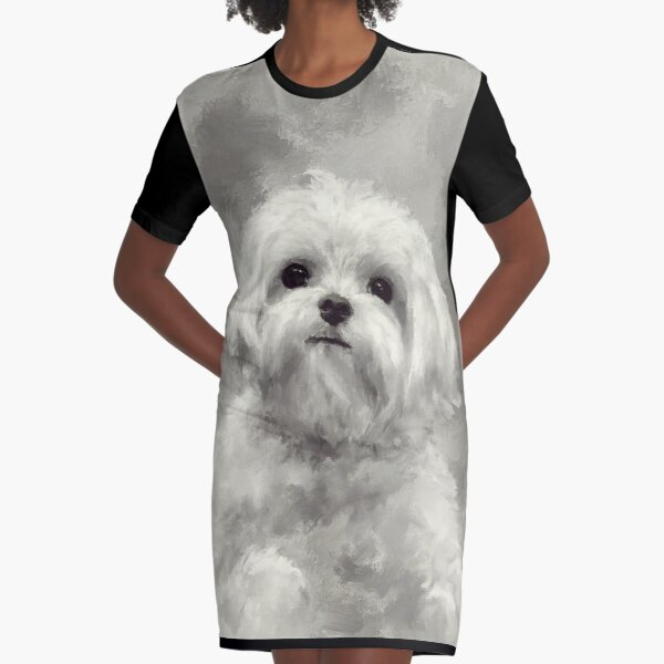 King Of The World Graphic T-Shirt Dress
