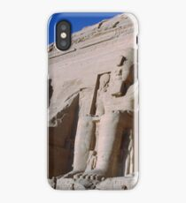 Abu Simbel Pharaoh Ramesses II  iPhone Case