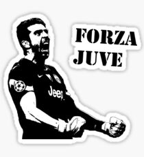 Gianluigi Buffon - Forza Juve Sticker