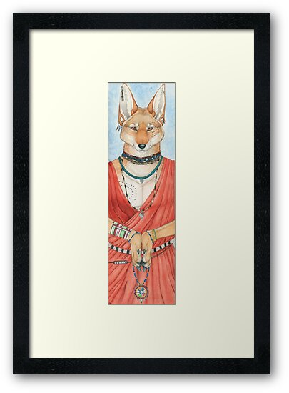Masai Jackal by Sarah Thomas