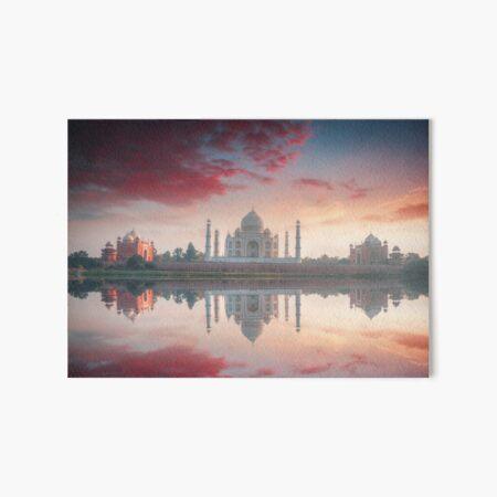 Beautiful Taj Mahal Art Board Print