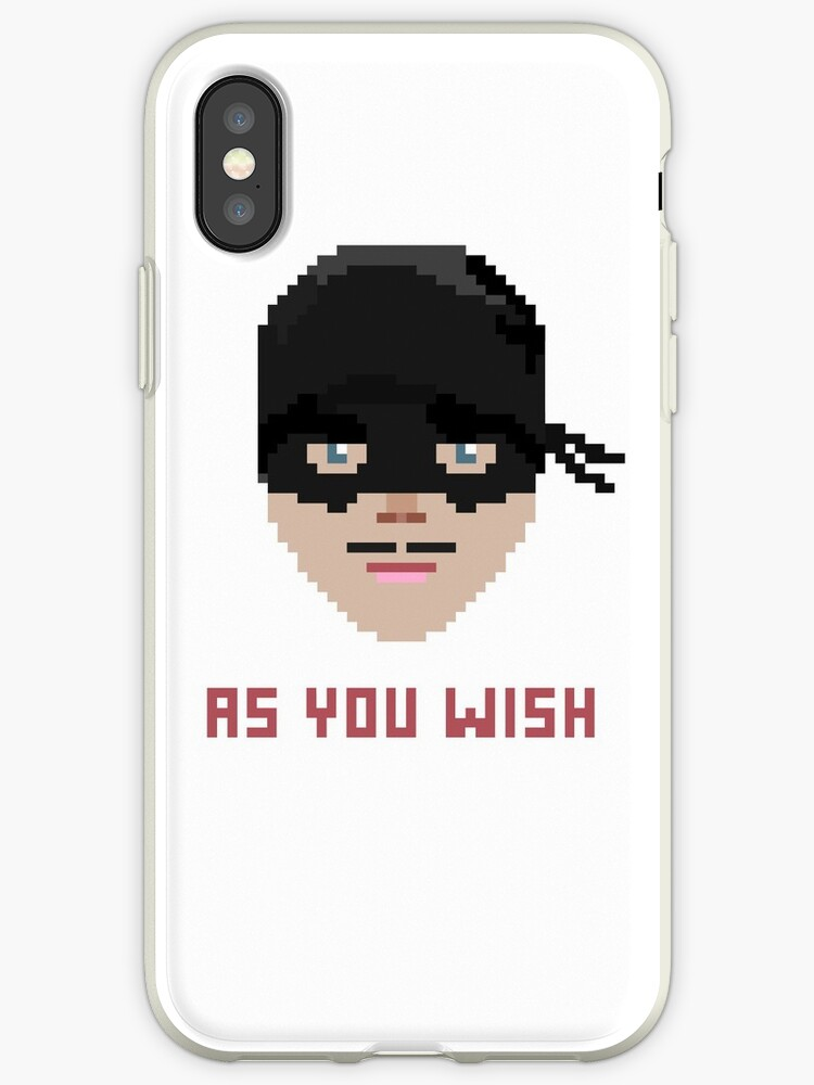 The Princess Bride, Westley - As You Wish Pixels by icetown