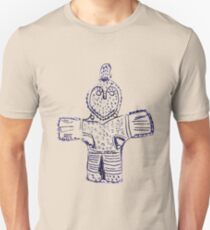 Oldest Viking Crucifix uncovered in Denmark, rough drawing Unisex T-Shirt