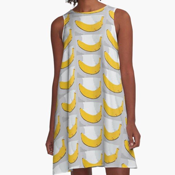 Simply A Smiling Banana A-Line Dress