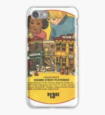 Fisher Price Sesame Street Playhouse Ad iPhone Case/Skin