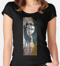 portrait of she Women's Fitted Scoop T-Shirt