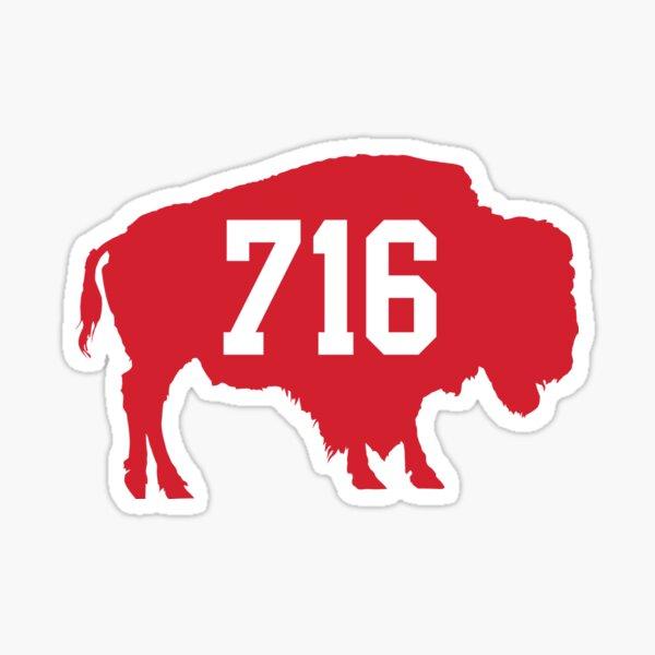 716 : Red Sticker