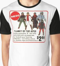 Mego Planet of the Apes Action Figures Graphic T-Shirt
