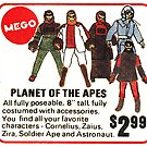 Mego Planet of the Apes Action Figures by PlaidStallions