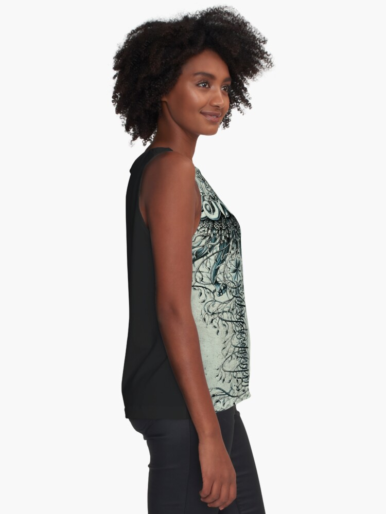 Alternate view of Siphonophore Sleeveless Top