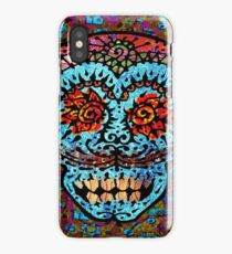 'Sweet Sugar Skull #3' iPhone Case/Skin