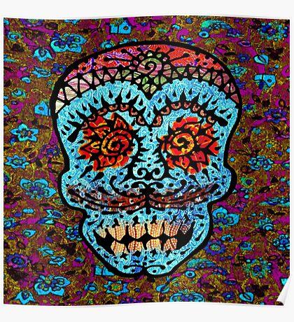 'Sweet Sugar Skull #3' Poster