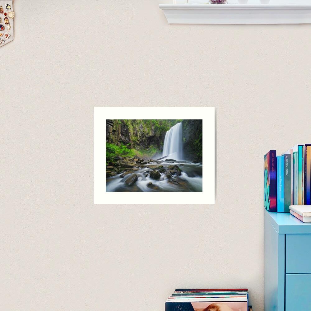Hopetoun Falls, Otways, Great Ocean Road, Victoria, Australia Art Print