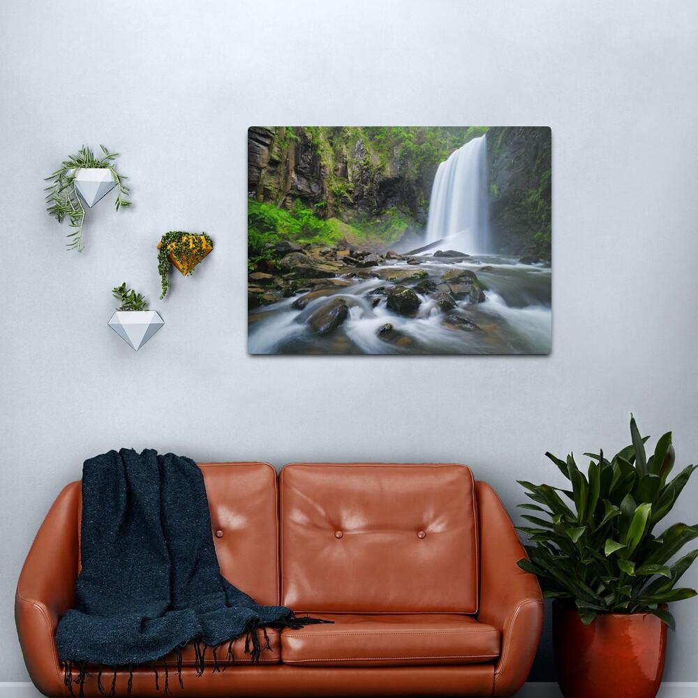 Hopetoun Falls, Otways, Great Ocean Road, Victoria, Australia Metal Print