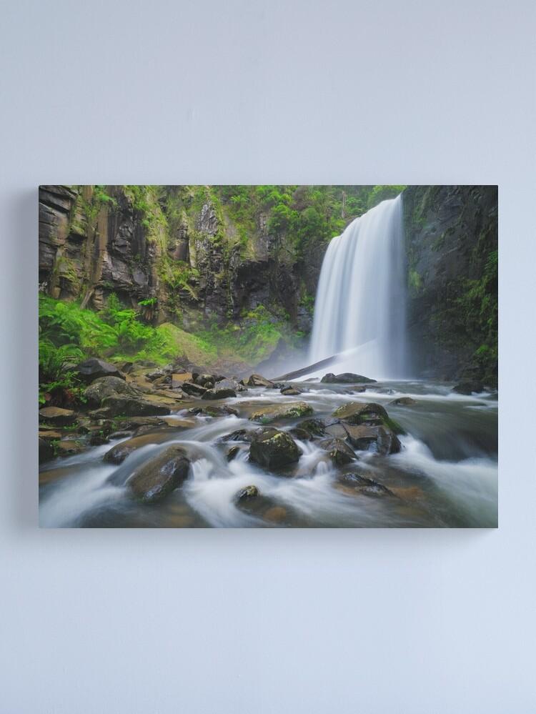 Alternate view of Hopetoun Falls, Otways, Great Ocean Road, Victoria, Australia Canvas Print
